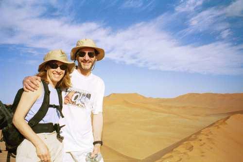 Doug and Jane, Sossusviel, Namibia